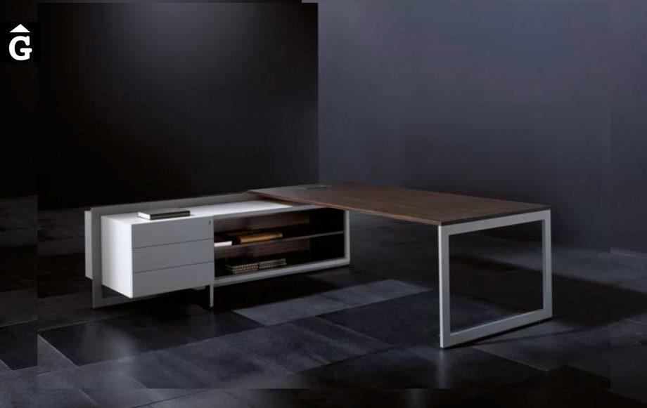 Taula despatx Vektor disseny Josep Lluscà | Forma 5 | mobiliari d'oficina molt interessant | mobles Gifreu | botiga | Contract | Mobles nous d'oficina