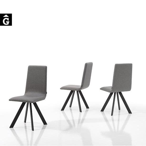 Mobliberica Cadira tapissada Vulcano gris mobles Gifreu Girona mobliberica qualitat bon preu fort
