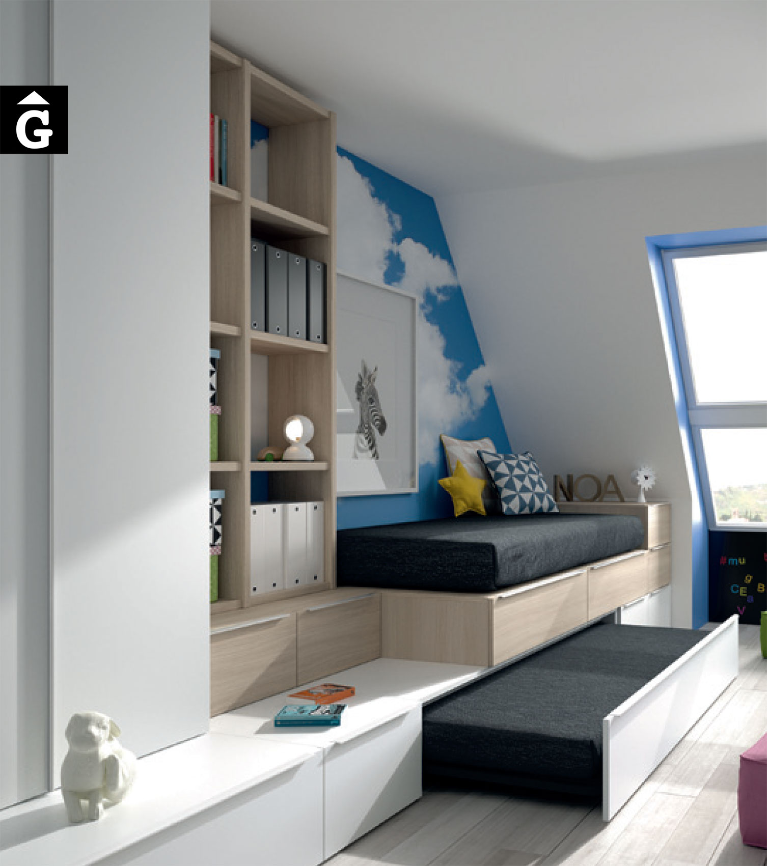 Habitacions juvenils