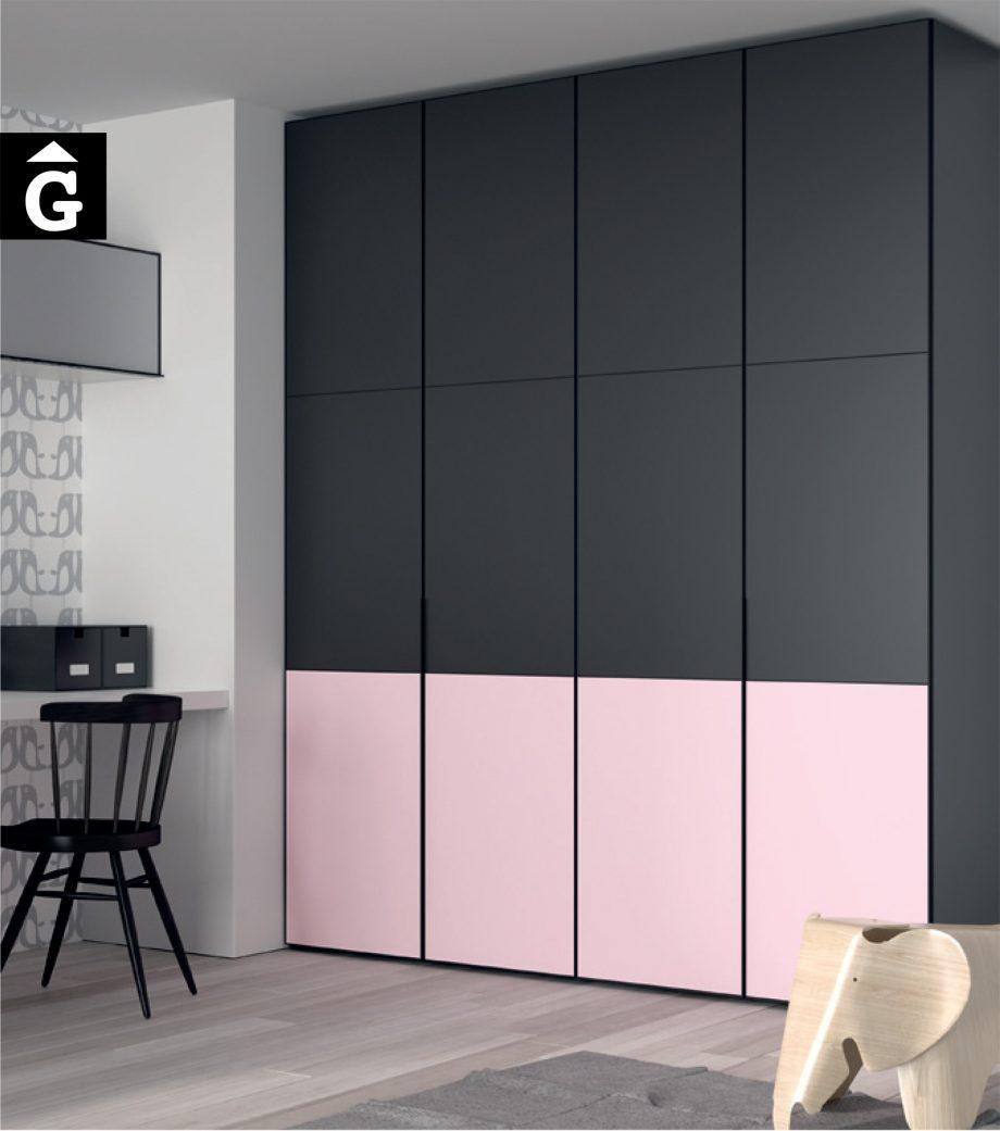 mobles Gifreu & JJP muebles Infinity habitació Juvenil Girona qualitat rosa