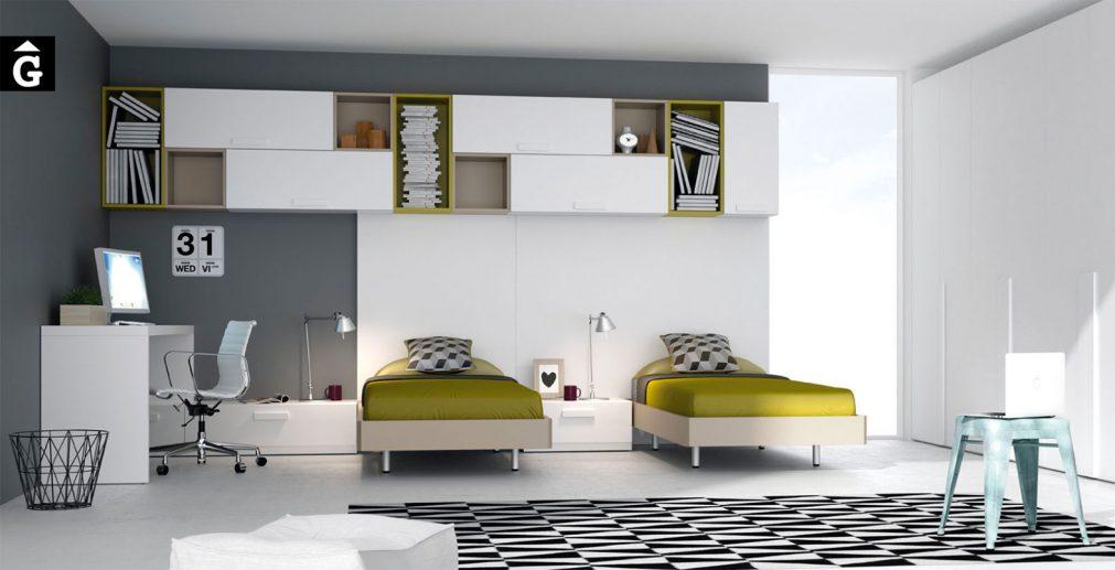muebles-JJP-&-mobles-Gifreu-Girona-Barcelona-habitació-juvenil-qualitat-modern-dinàmic-llits-individuals