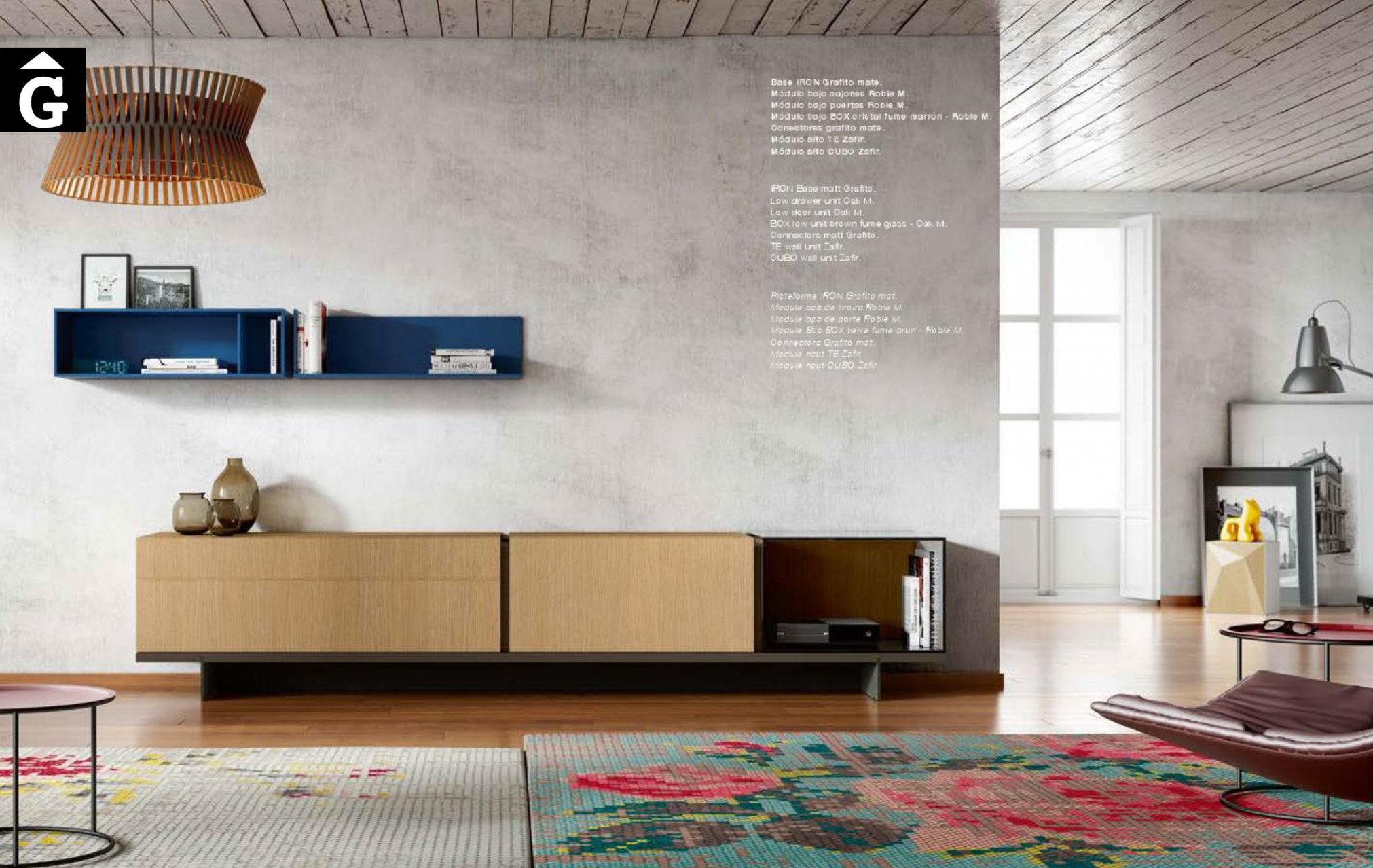 MOBLE-44-CONNECTOR-EMEDE-mobles-by-Mobles-GIFREU-Girona-ESPAI-EMEDE-Epacio-emede-Muebles-MD-moble-menjador-Sala-estar-habitatge-qualitat-laca-xapa-natural