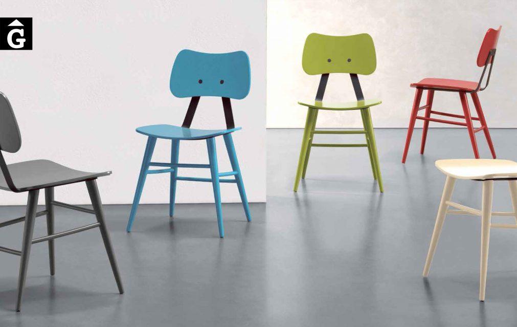 Cadira fusta actual 2016 by mobles Gifreu