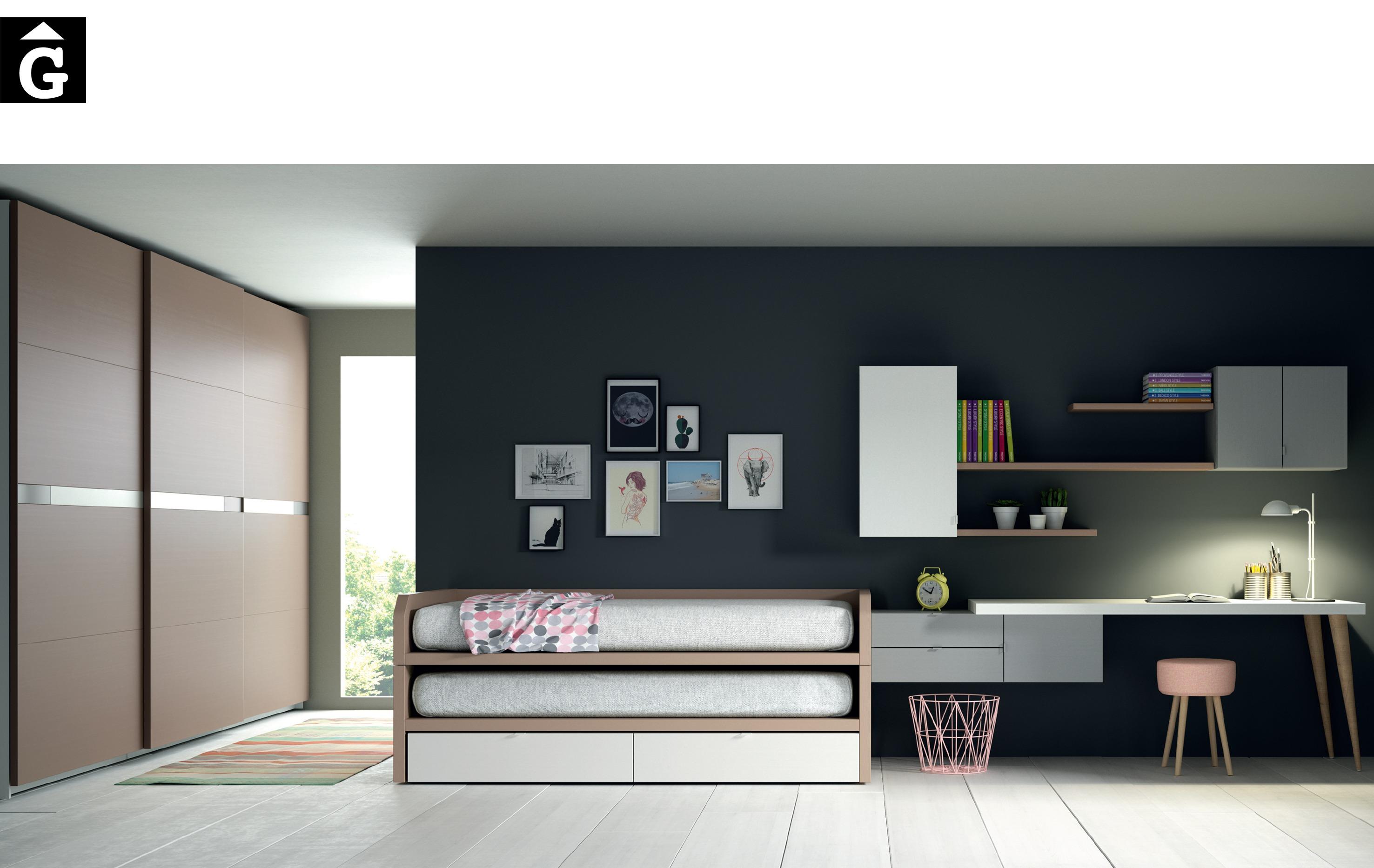 Bruseles llits corredes Lagrama by mobles Gifreu