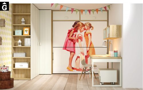 Dublin Lagrama habitacions juvenils by mobles Gifreu Porqueres Girona