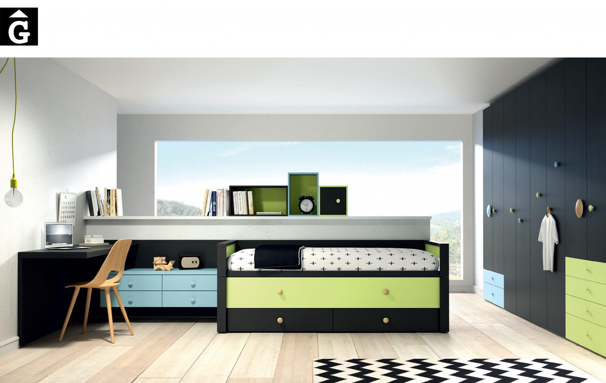 Edimburgo Lagrama habitacions juvenils by mobles Gifreu Porqueres Girona
