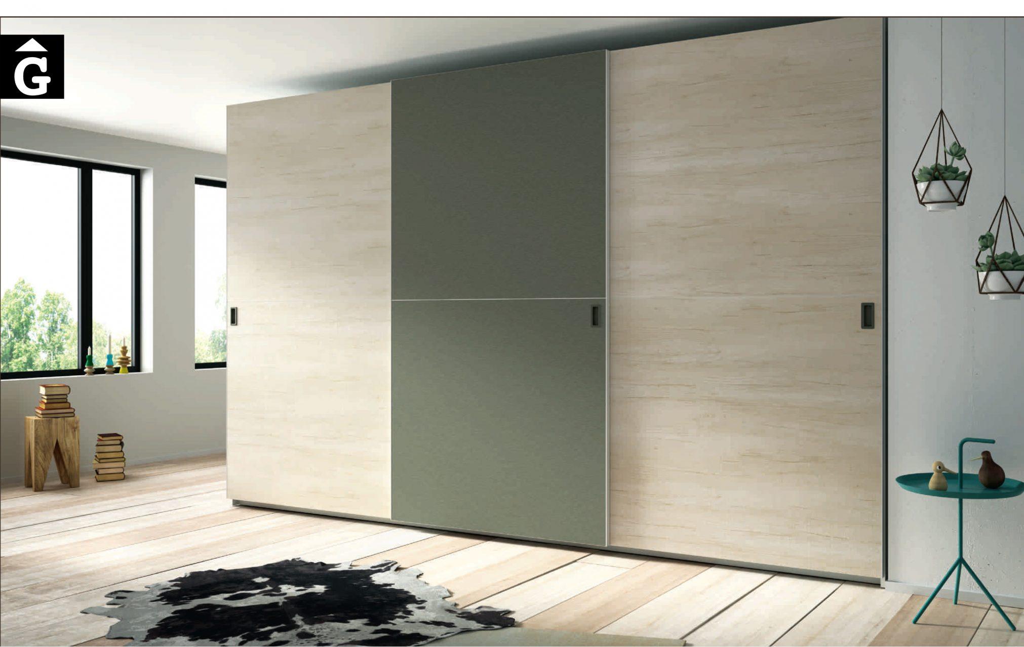 Lagrama armar 7 Portes Correderes Horizon by Mobles GIFREU Girona modern qualitat vanguardia minim elegant atemporal