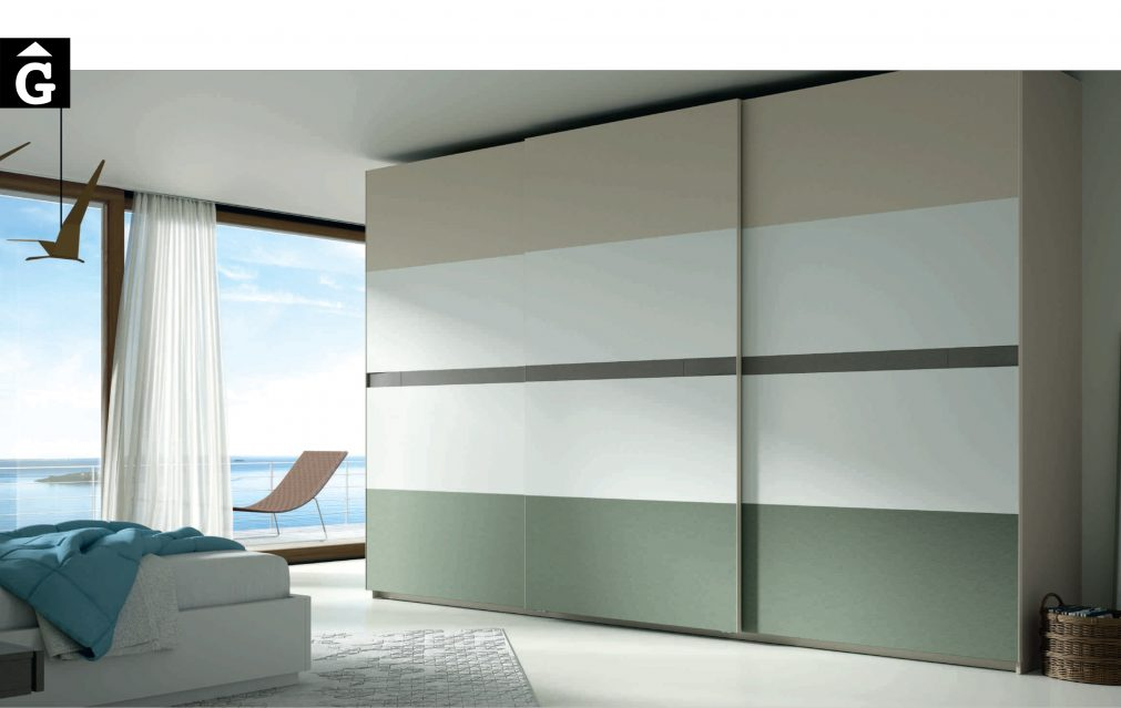 Lagrama armari 1 Kandor by Mobles GIFREU Girona modern qualitat vanguardia minim elegant atemporal