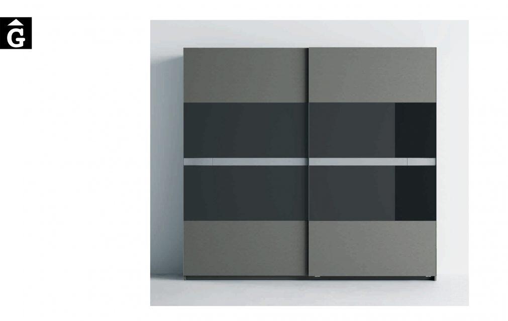 Lagrama armari 2 Porta corredra Kandor Cristal by Mobles GIFREU Girona modern qualitat vanguardia minim elegant atemporal