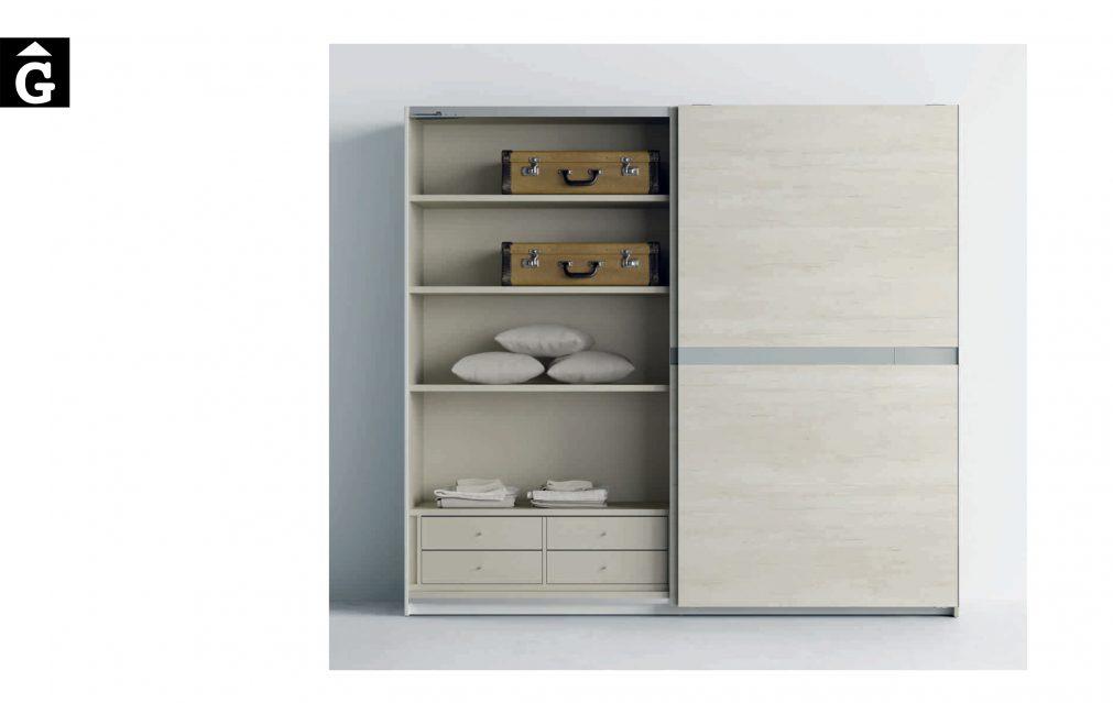 Lagrama armari 2 porta corredera Kandor by Mobles GIFREU Girona modern qualitat vanguardia minim elegant atemporal