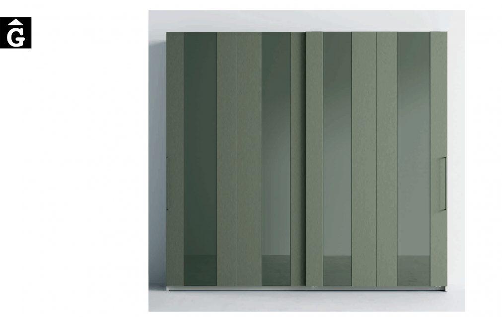 Lagrama armari 4 Porta corredera AV Cristal by Mobles GIFREU Girona modern qualitat vanguardia minim elegant atemporal