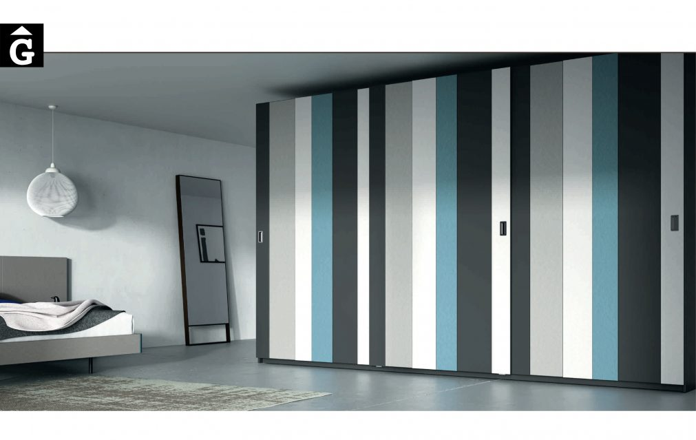 Lagrama armaris 5 3portes correederes AV by Mobles GIFREU Girona modern qualitat vanguardia minim elegant atemporal