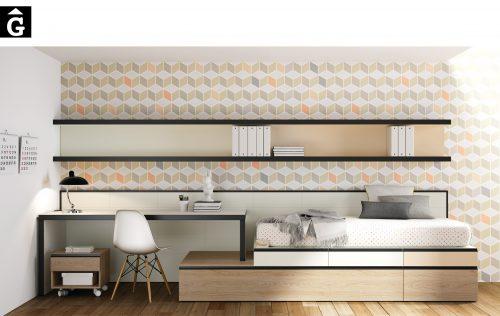 Lisboa Lagrama habitacions juvenils by mobles Gifreu Porqueres Girona-Recovered