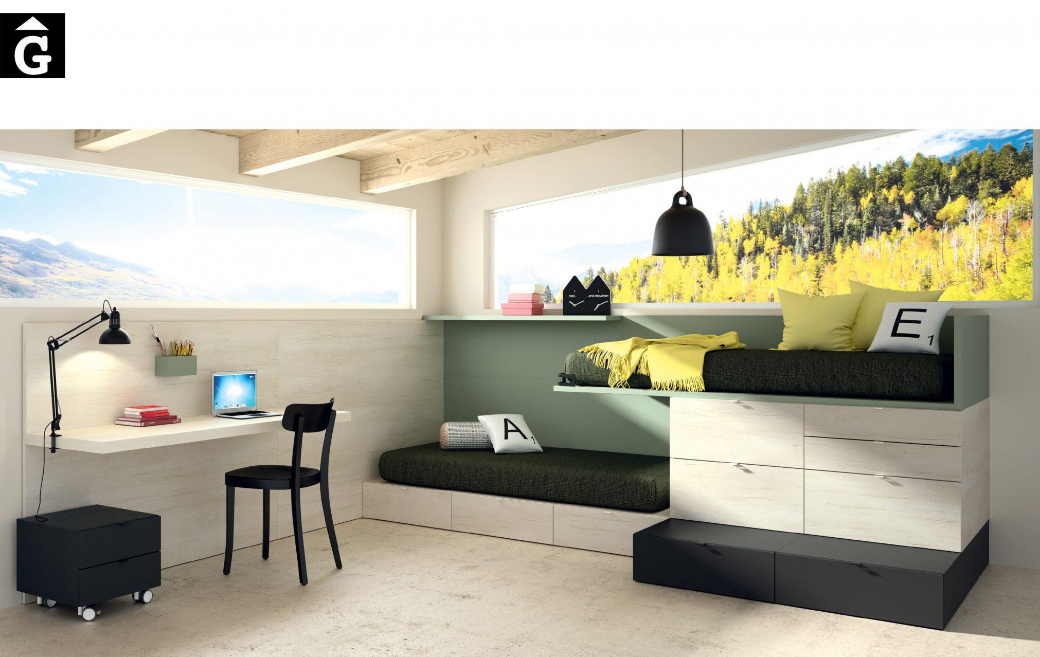 Lagrama Montreal habitacions juvenils by mobles Gifreu Porqueres Girona-Recovered