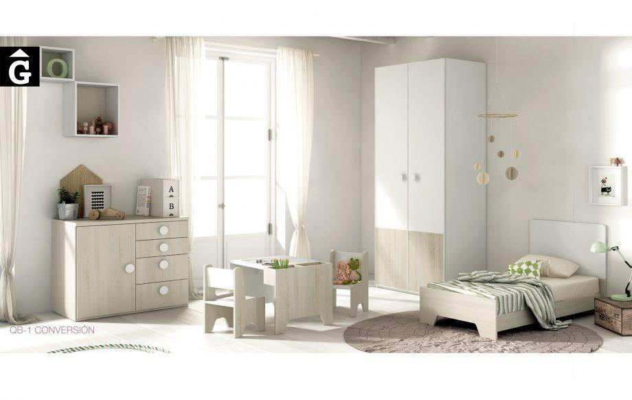 5 QB Tegar by Mobles GIFREU Girona modern minim elegant atemporal