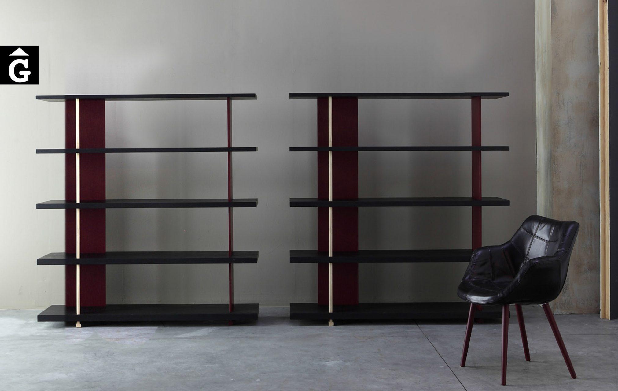 Estanteria roure massís. Devina Nais 13 Estanteries by Mobles GIFREU Girona modern qualitat vanguardia minim elegant atemporal-Recovered