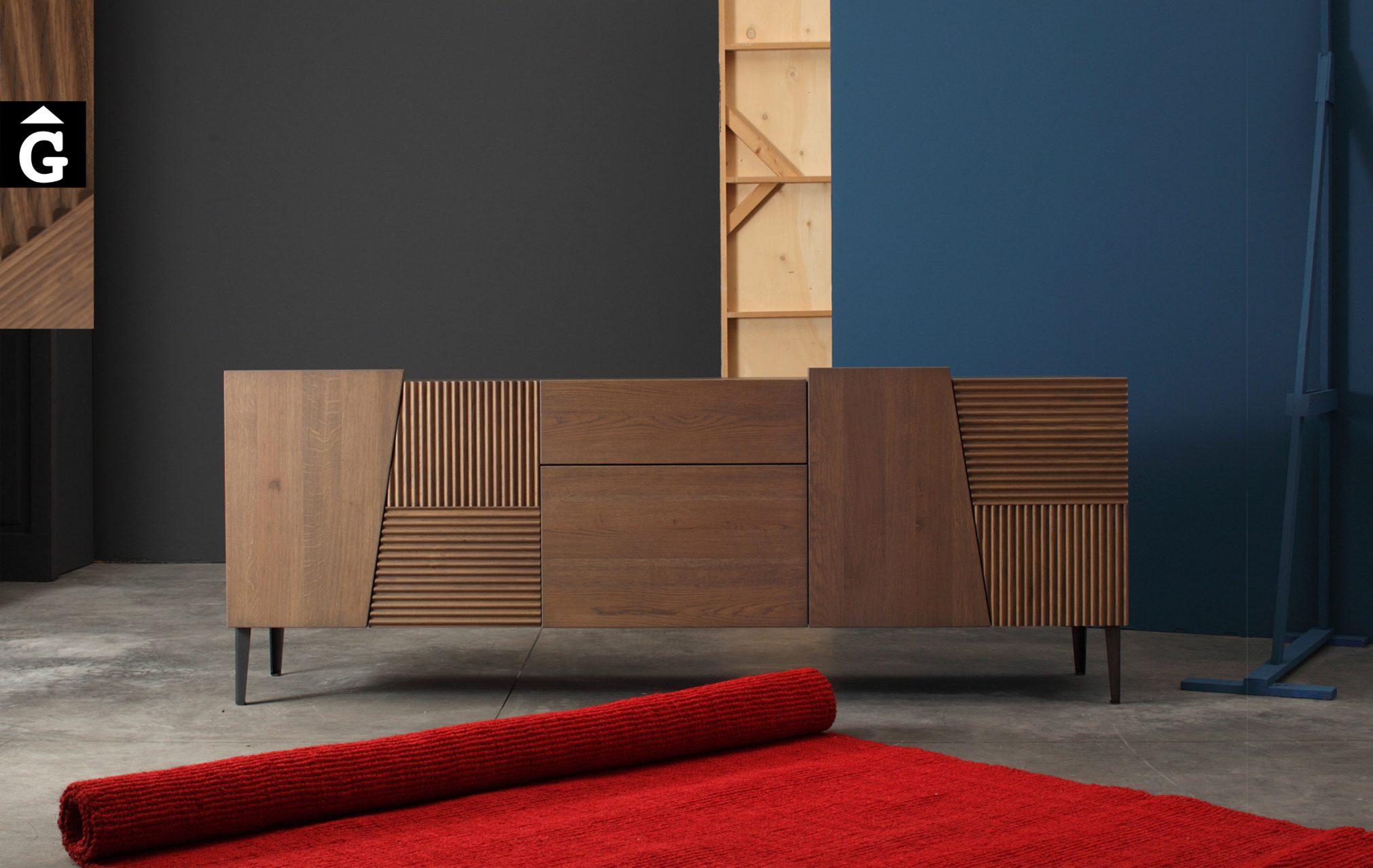 Devina Nais 3 Aparador by Mobles GIFREU Girona modern qualitat vanguardia minim elegant atemporal