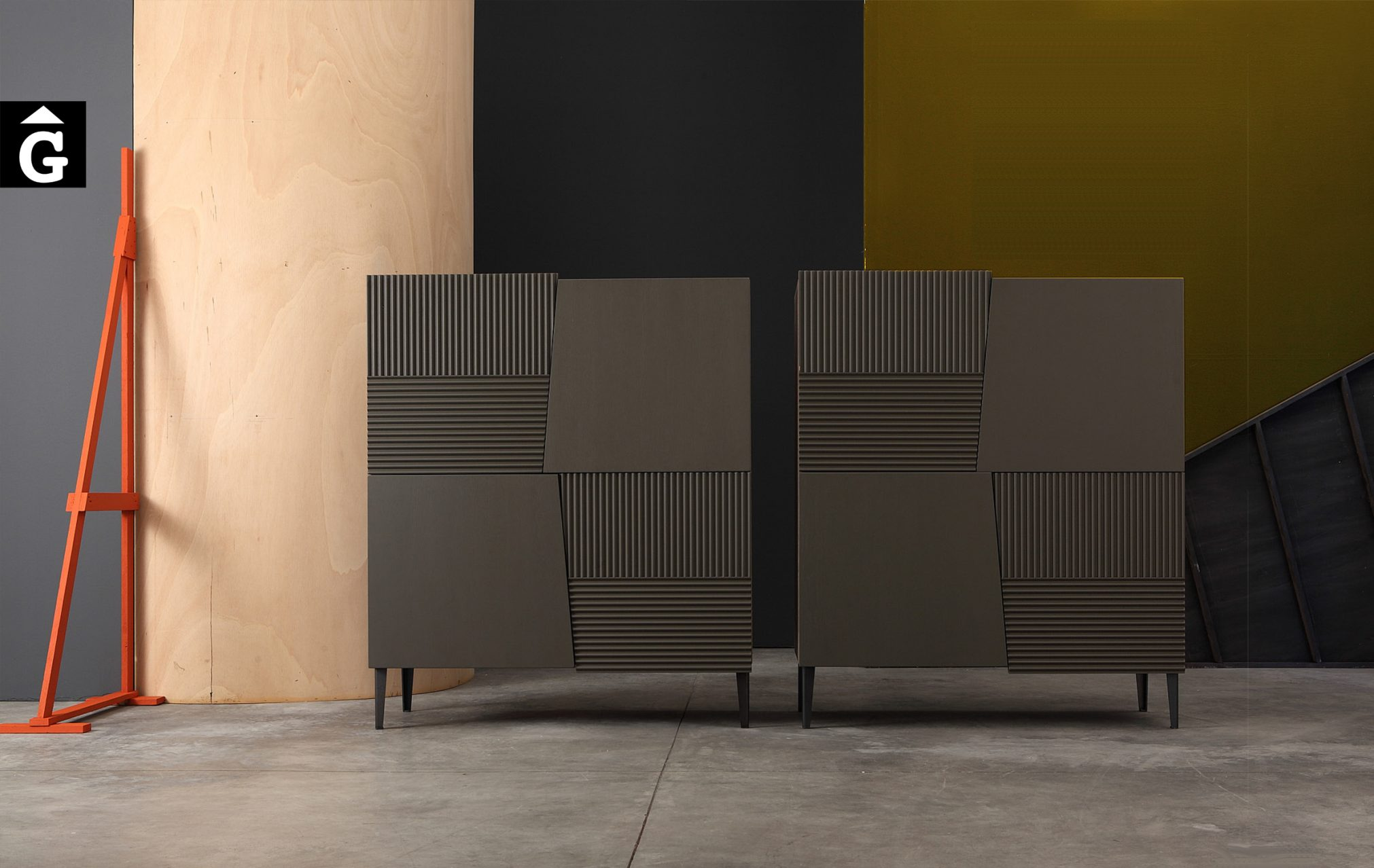 Devina Nais 7 Twins Container by Mobles GIFREU Girona modern qualitat vanguardia minim elegant atemporal