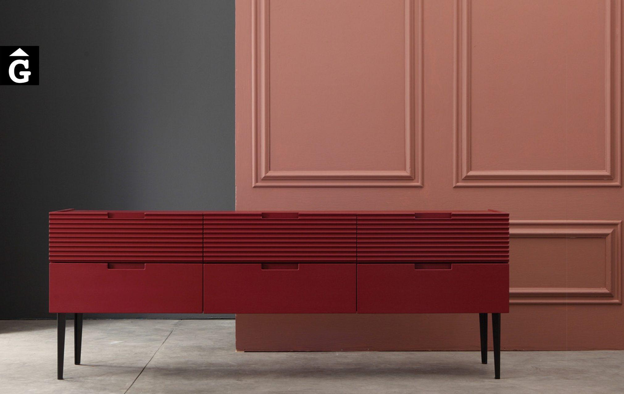 Devina Nais moble baix color by Mobles GIFREU Girona modern qualitat vanguardia minim elegant atemporal