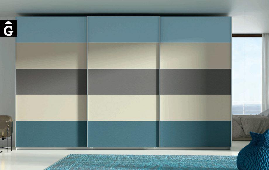 Lagrama armari 11 portes correderes A5 by Mobles GIFREU Girona modern qualitat vanguardia minim elegant atemporal