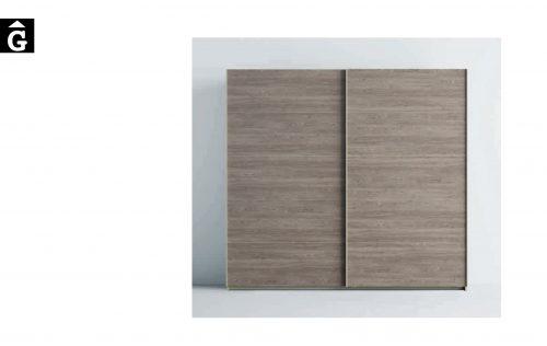 Lagrama armari 12 Porta A5 Vidre blau by Mobles GIFREU Girona modern qualitat vanguardia minim elegant atemporal