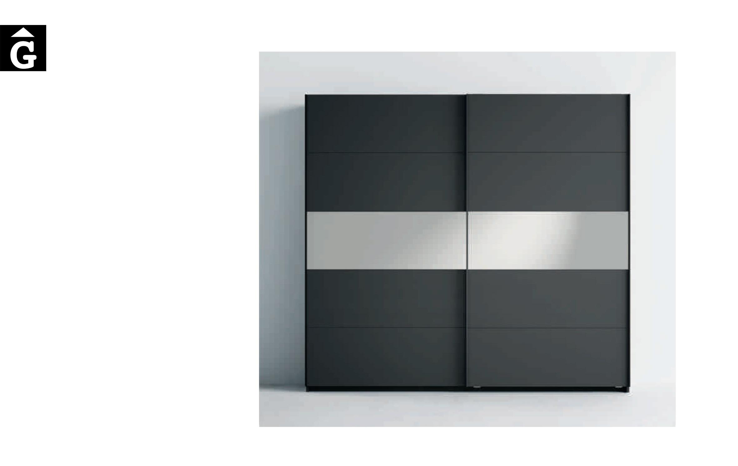 Lagrama armari 12 Porta A5 Vidre fosc blau by Mobles GIFREU Girona modern qualitat vanguardia minim elegant atemporal