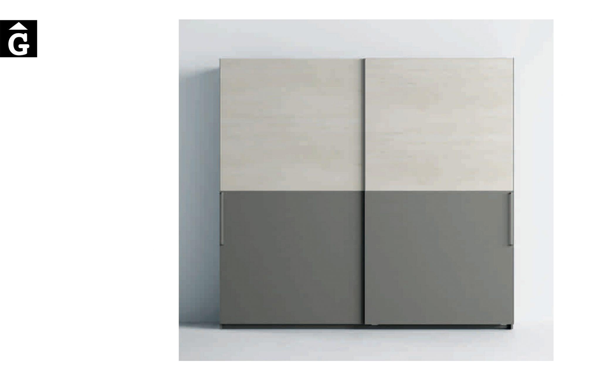 Lagrama armari 2 Portes correderes Horizon by Mobles GIFREU Girona modern qualitat vanguardia minim elegant atemporal
