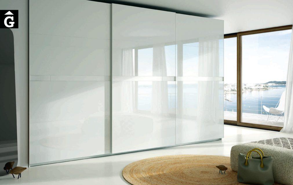Lagrama armaris 9 Kandor cristal by Mobles GIFREU Girona modern qualitat vanguardia minim elegant atemporal