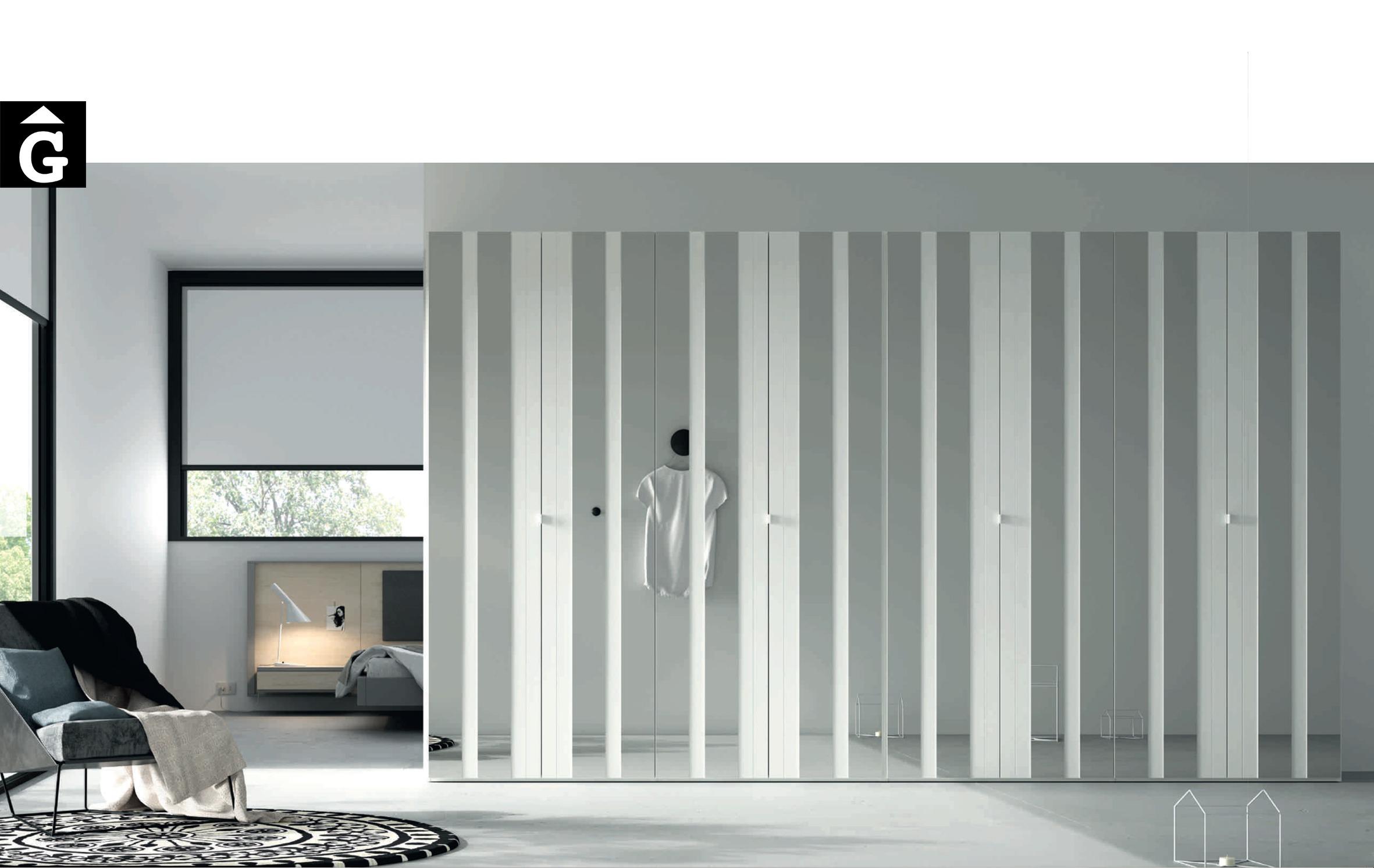 Lagrama armaris AV mirall tot by Mobles GIFREU Girona modern qualitat vanguardia minim elegant atemporal