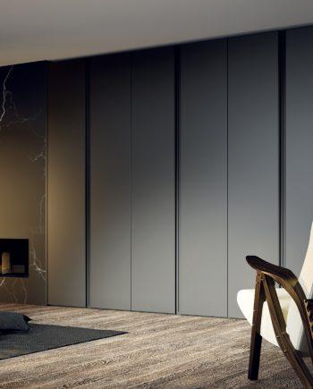 Armari negre portes batents Matri JOTAJOTAPE NoLimits by Mobles GIFREU Girona modern minim elegant atemporal