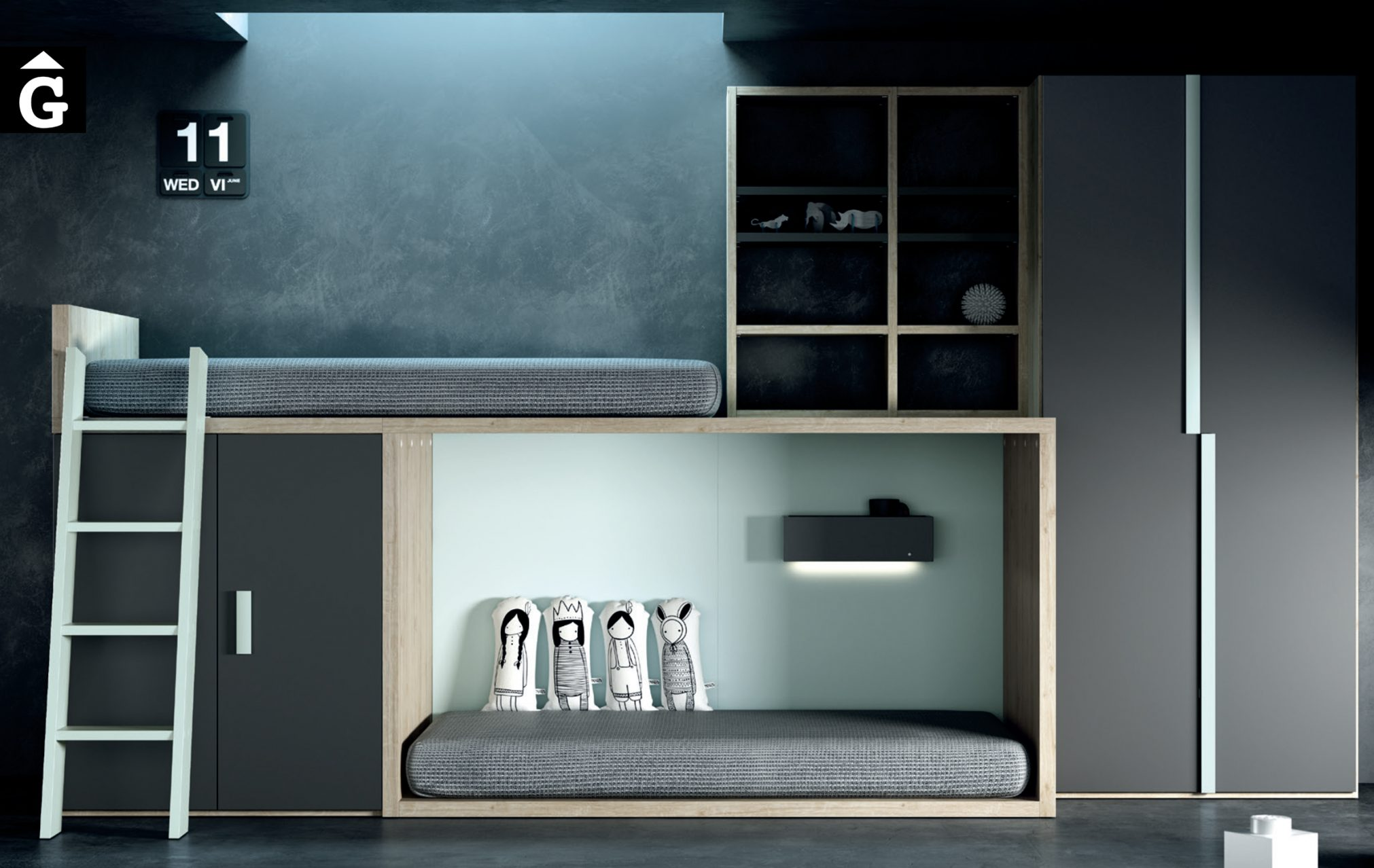 32 1 QB Tegar by Mobles GIFREU Girona modern minim elegant atemporal