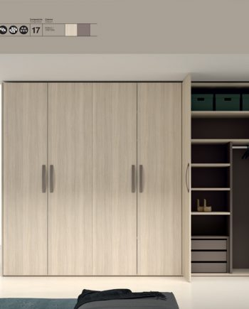 Armari portes batents JJP NoLimits by Mobles GIFREU Girona Armaris a mida modern minim elegant atemporal
