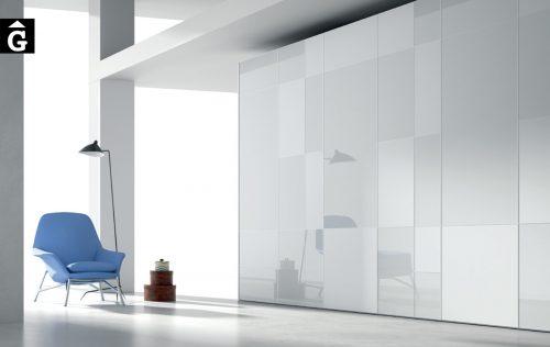 Armari portes batents metacrital JJP NoLimits by Mobles GIFREU Girona Armaris a mida modern minim elegant atemporal