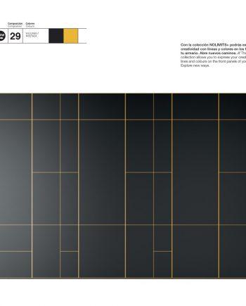 Armari negre amb perfileria alumini color clar JJP NoLimits by Mobles GIFREU Girona Armaris a mida modern minim elegant atemporal