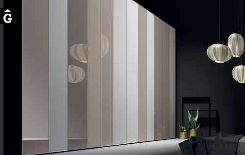 Armari portes batents metacrilat tons càlids i neutres JJP NoLimits by Mobles GIFREU Girona Armaris a mida modern minim elegant atemporal