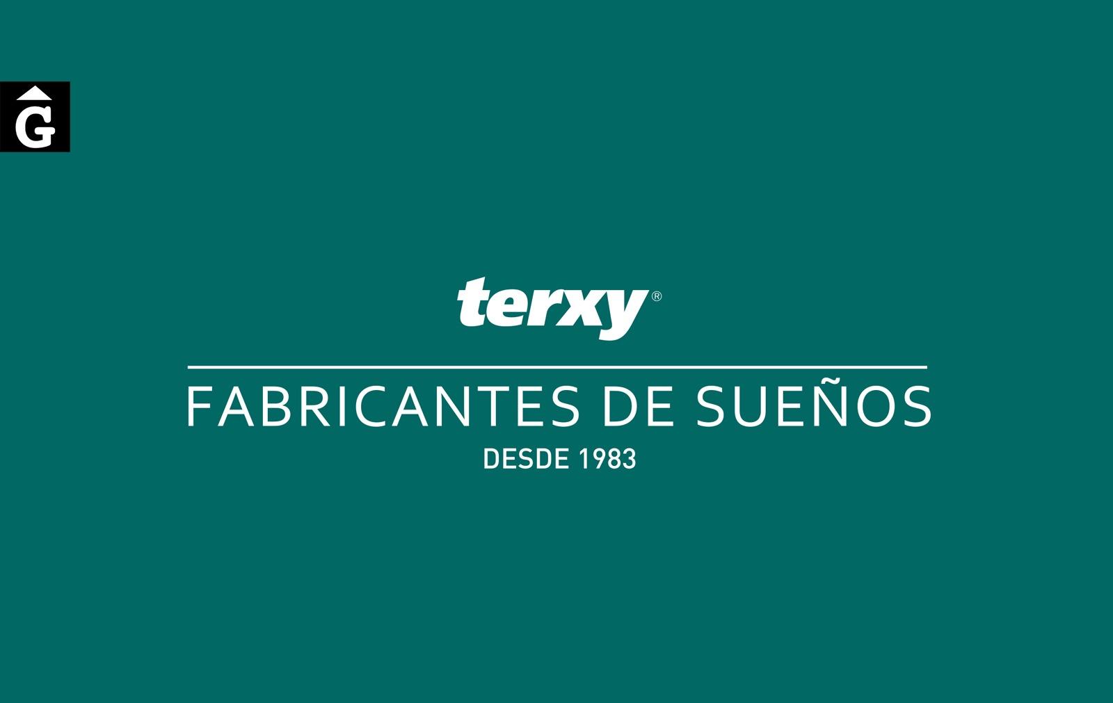 Distribuidor oficial terxy-by-mobles-gifreu-girona-fabricants-de-somnis-matalas-matalassos-somier-somiers-coixi-coixins-de-qualitat-realitazats-amb-els-cinc-sentits
