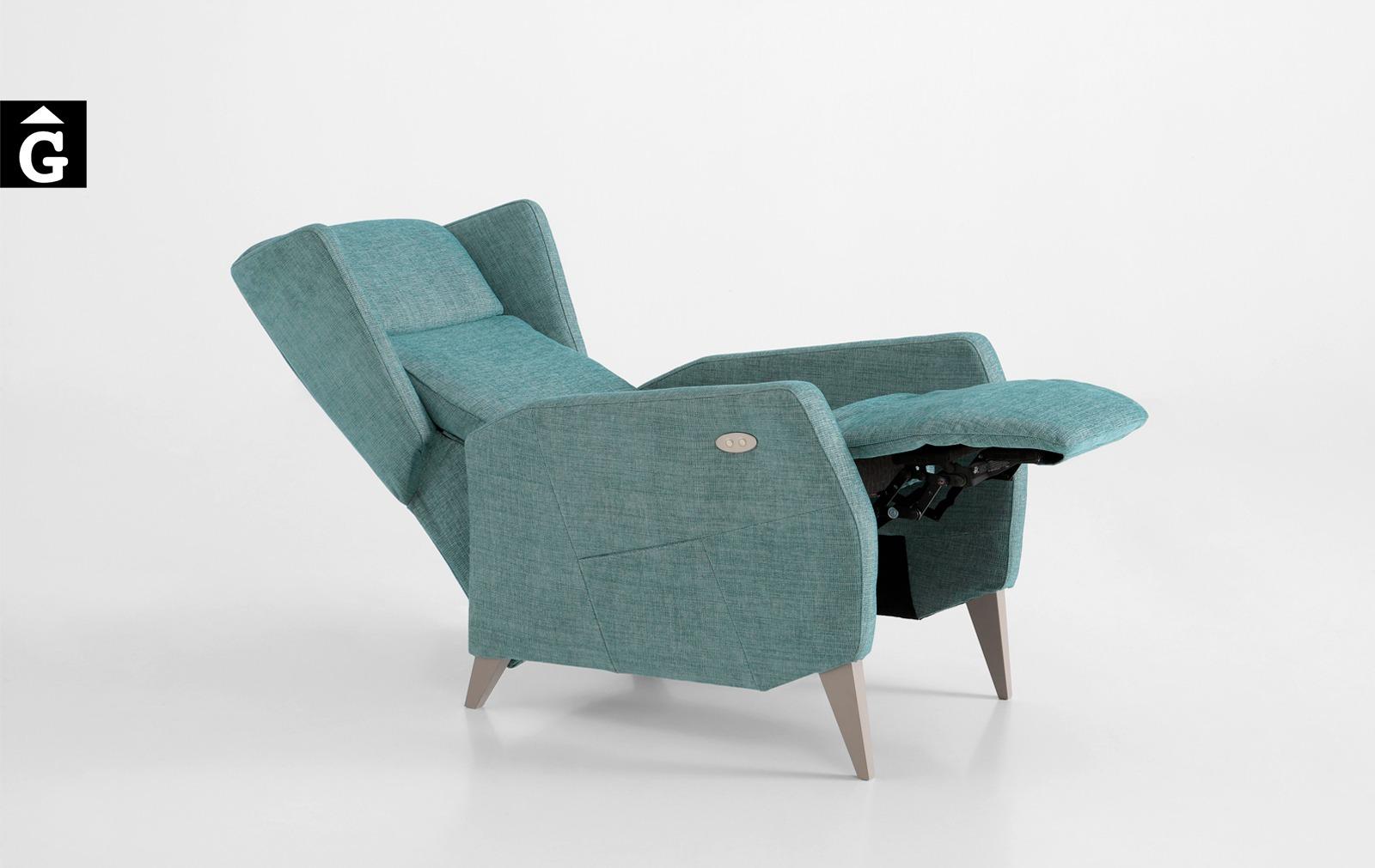 3 Tajoma by mobles Gifreu tapisseria de disseny actual i classic relax butaques sillons