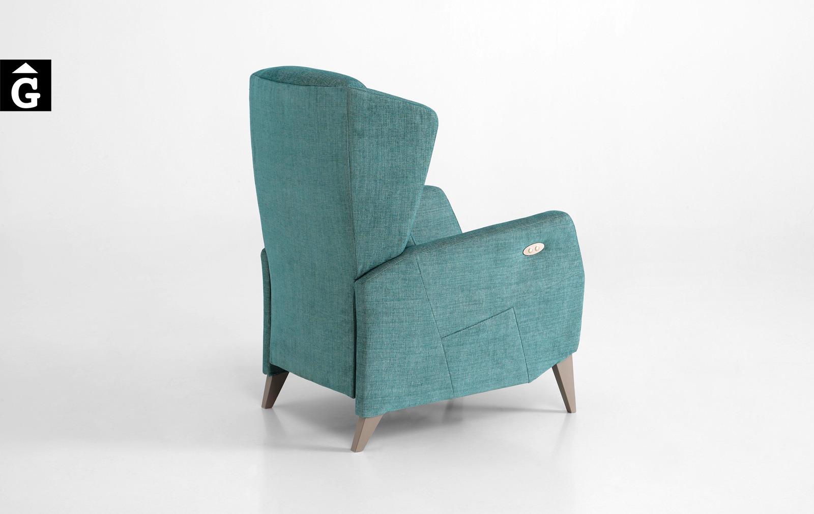 4 Tajoma by mobles Gifreu tapisseria de disseny actual i classic relax butaques sillons
