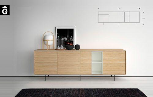 Moble bufet Aura Treku by mobles Gifreu Idees per la llar moble de qualitat