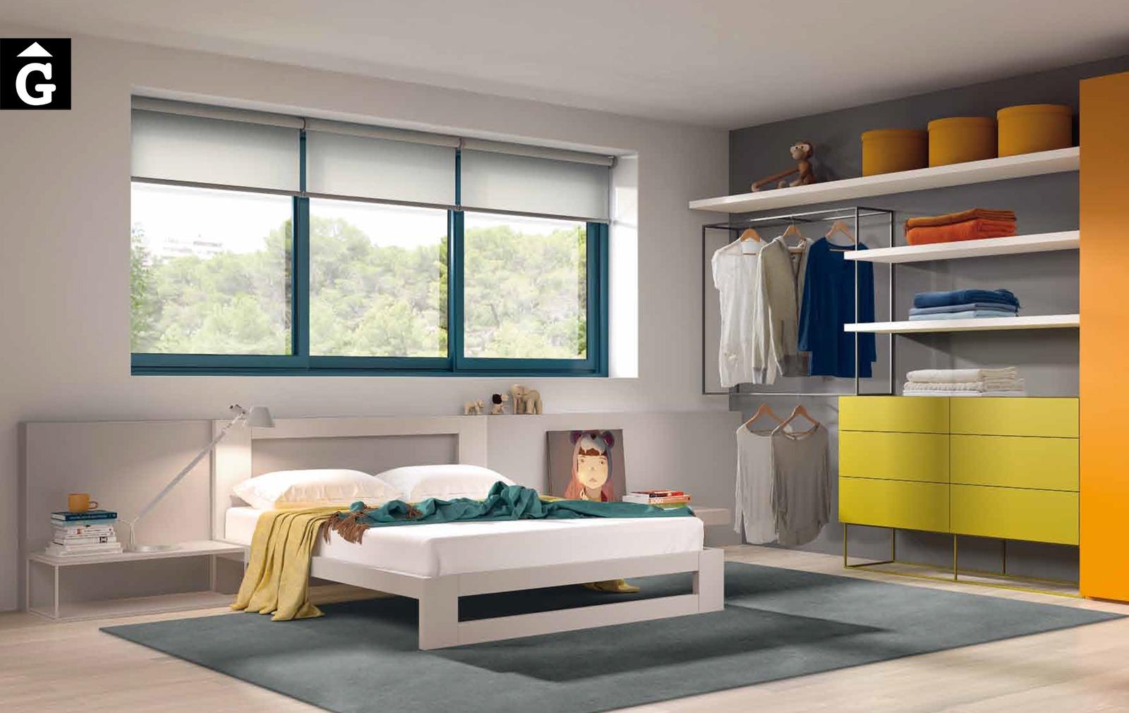 Habitació juvenil Besfomr by Mobles GIFREU Armaris Vestidors Habitcions a mida modern minim elegant atemporal