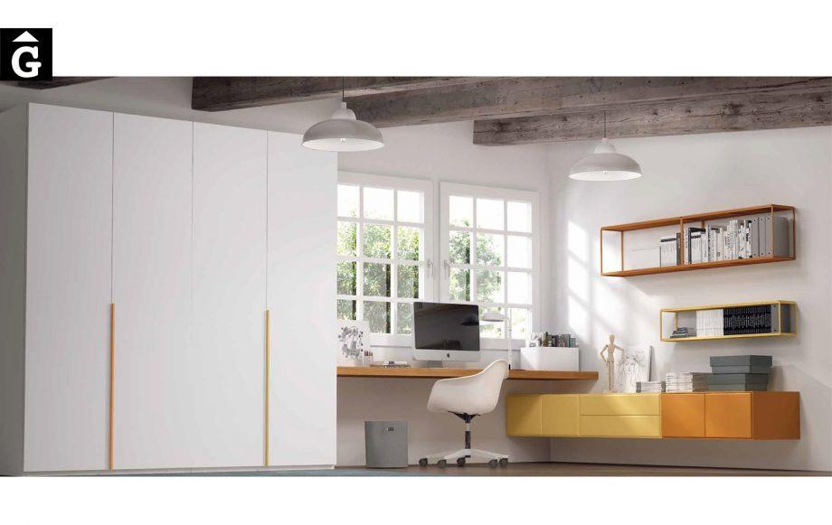 Armari estudi Besform by Mobles GIFREU Armaris Vestidors Habitcions a mida modern minim elegant atemporal