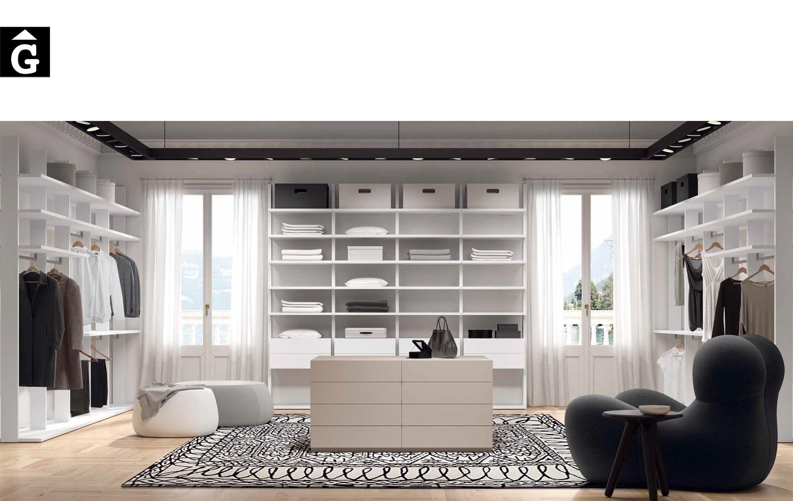 Vestidor exclusiu Besform by Mobles GIFREU Armaris Vestidors Habitcions a mida modern minim elegant atemporal