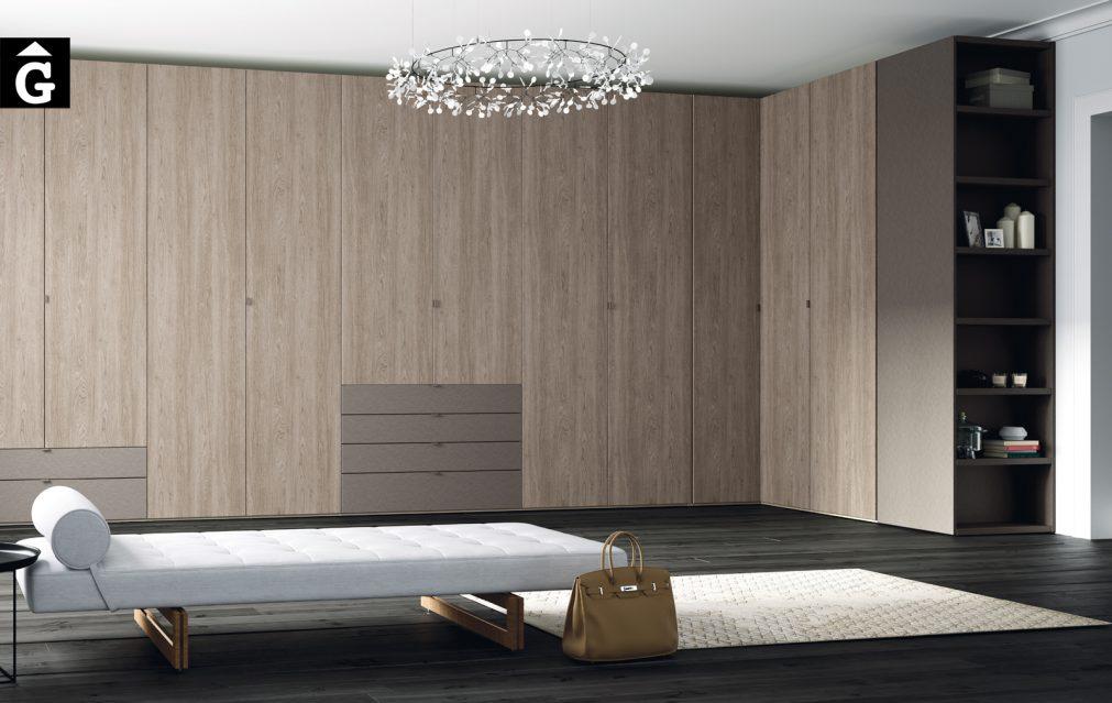 Armari Vestidor Lagrama by Mobles GIFREU Armaris Vestidors Habitcions a mida modern minim elegant atemporal