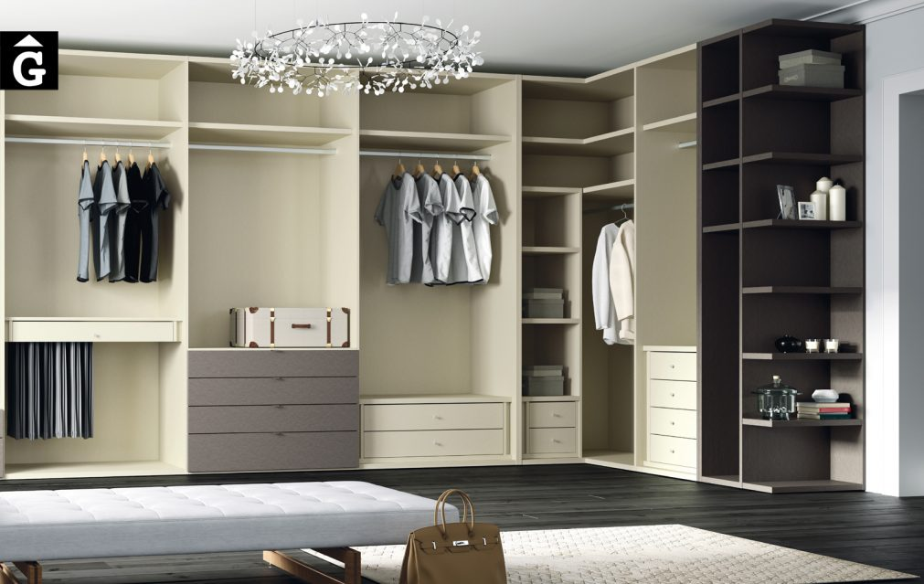 Vestidor Lagrama by Mobles GIFREU Armaris Vestidors Habitcions a mida modern minim elegant atemporal