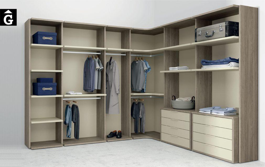 Vestidor Closet Lagrama by Mobles GIFREU Armaris Vestidors Habitcions a mida modern minim elegant atemporal