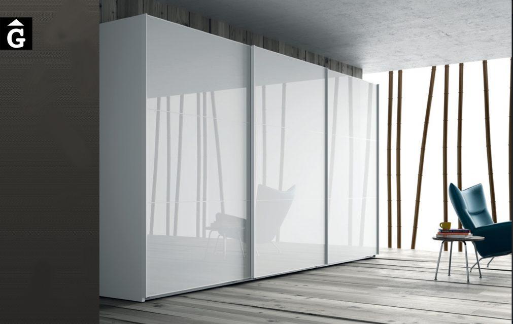 Armari portes correderes Brillo JJP NoLimits by Mobles GIFREU Girona Armaris a mida modern minim elegant atemporal
