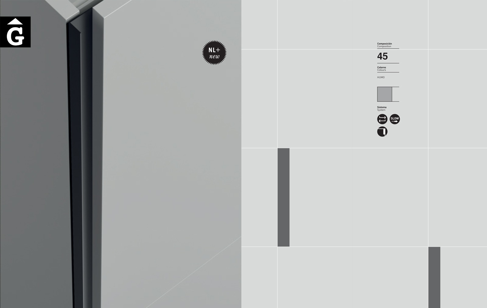 Detall tirador Singular encastat JJP NoLimits by Mobles GIFREU Girona Armaris a mida modern minim elegant atemporal