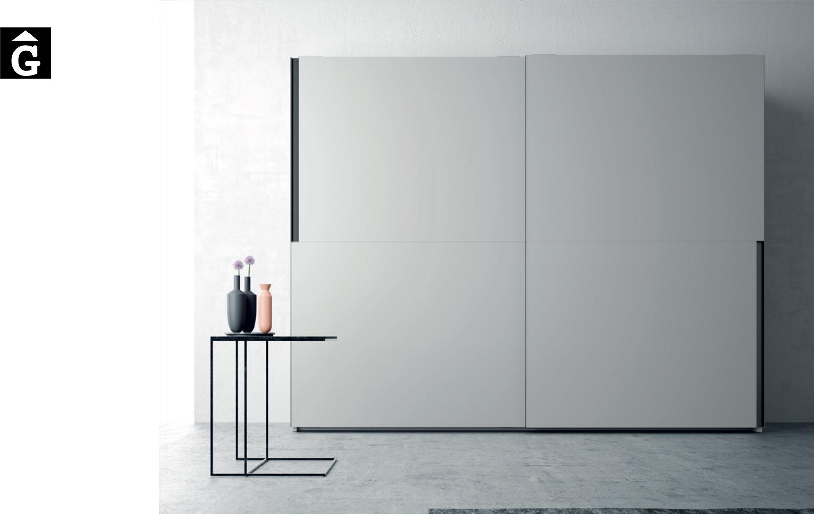 Armari portes Tecto correderes JJP NoLimits by Mobles GIFREU Girona Armaris a mida modern minim elegant atemporal