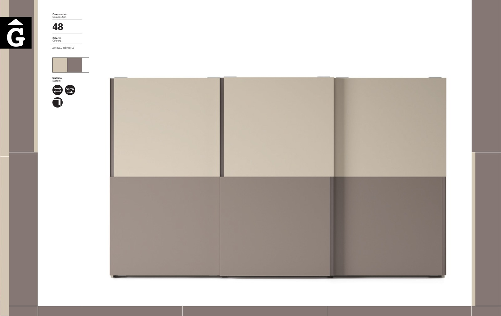 Armari portes correderes Tecto JJP NoLimits by Mobles GIFREU Girona Armaris a mida modern minim elegant atemporal