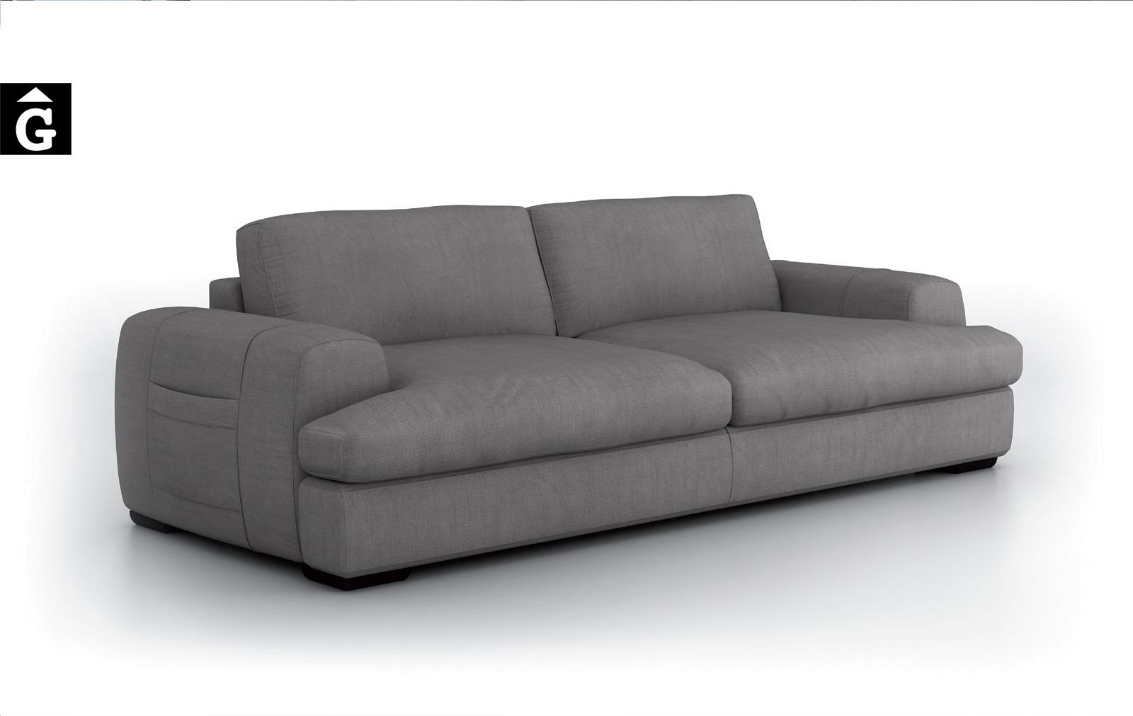 Jaja sofà Moradillo by mobles Gifreu tapisseria de qualitat sofas relax llits puff pouf chaixelongues butaques sillons